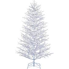 5ft Pre Lit White Christmas Tree by Ge Prelit Christmas Trees Home Decorating Interior Design Bath