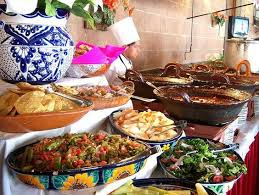 Mexican Wedding Menu Ideas Buffet Mexicano Fruit Stands Weddings And Simple Outdoor Reception