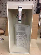 Kidde Semi Recessed Fire Extinguisher Cabinets by Industrial Fire Protection Supplies In Brand Kidde Ebay