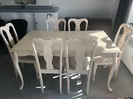 tisch stuhl sets im landhaus stil fürs esszimmer 7 teile
