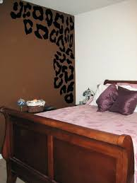 wall ideas leopard print wall decor leopard print room ideas