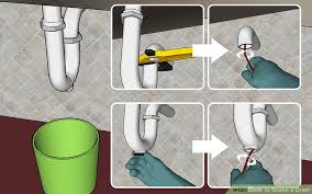 Unclogging Kitchen Sink With Snake by How To Snake A Drain 11 Steps With Pictures Wikihow