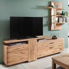 tv kombi samara 05 wohnzimmer möbel in asteiche bianco massiv b h t