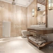 3d rendering modernen luxus holz bad in suitehotel stockfoto und mehr bilder architektur
