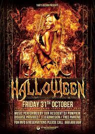 Free Halloween Flyer Templates by Halloween Flyer Bundle V2 That U0027s Design Store