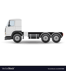 100 Truck Tractor Big Truck Tractor For Transportation Cargo Vector Image