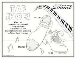 Jazz Dance Coloring Pages
