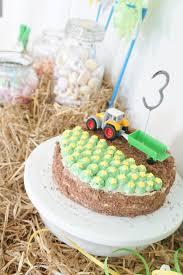 traktor geburtstag einladung torte deko deko hus kinder