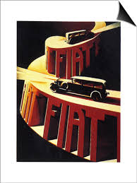 1930s Fiat Car Advertisement