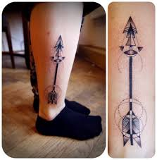 50 Unique And Beautiful Arrow Tattoo Designs