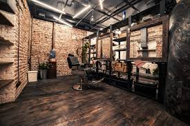 Barber Shop Design Ideas by Loft Interior Barbershop Beautyshop Style Haircuts Wood Latest