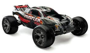 100 Best Rc Stadium Truck TRX370761BK Traxxas Rustler VXL ID RTR Black