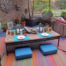 Serape Stripe Indoor Outdoor Area Rug Multi