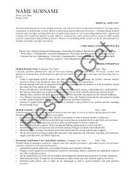 Medical Assistant Resume Examples 2019 - ResumeGet.com 89 Examples Of Rumes For Medical Assistant Resume 10 Description Resume Samples Cover Letter Medical Skills Pleasant How To Write A Assistant With Examples Experienced Support Mplates 2019 Free Summary Riez Sample Rumes Certified Example Inspirational Resumegetcom 50 And Templates Visualcv