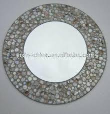 Mosaic Bathroom Mirror Diy crazy mosaic bathroom mirrors opal mosaic oval mirror mosaic