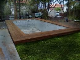 margelle piscine en bois terrasse margelle de piscine etienne bois menuiseries meubles