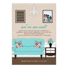 change of address invitations announcements zazzle canada
