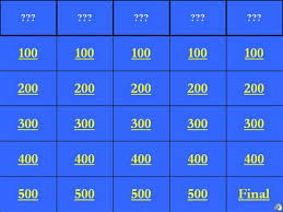 Jeopardy Template With Sound Effects Music Search Engine