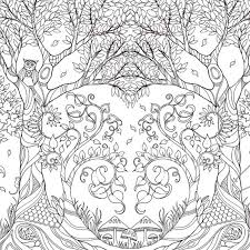 Flamingo Gifts Enchanted Forest Colouring Book By Johanna Basford