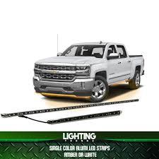 100 Diesel Truck Performance SingleColor Amber Or White Alumi LED Strips Xtreme Redline