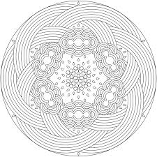 Fire Coloring Pages For Adults Mandala