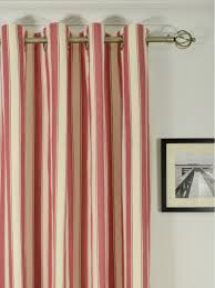 120 Inch Long Sheer Curtain Panels by Moonbay Narrow Stripe Grommet Cotton Extra Long Curtains 108 120