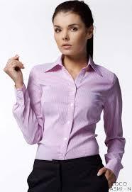 striped work shirt for women
