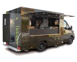 Mercedes Food Van - Mobile Restaurant
