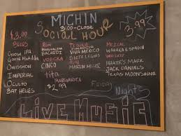 Moonshine Patio Bar Grill Happy Hour by Michin U0027s Social Hour Brings Cheap Drinks To An Intimate Setting