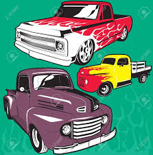 100 Hot Rod Trucks Royalty Free Cliparts Vectors And Stock