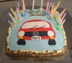 Easy Birthday Cake 19years Boy · A Car Cake · Food Decoration on
