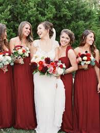 burgundy bridesmaids dresses photography wedding and weddings