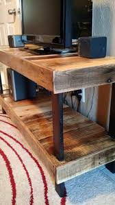 Diy Projects X Made Of Craft Board Pallet Center Corner Entertainment