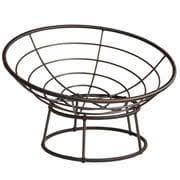 outdoor mocha papasan chair frame pier 1 imports