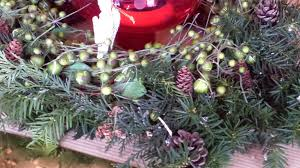 Pine Cone Christmas Tree Centerpiece by Christmas Angels On High Christmas Decorating Home Tour