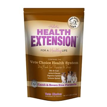 Vets Choice Holistic Health Extension Dry Dog Food - Lamb & Brown Rice, 15 lbs