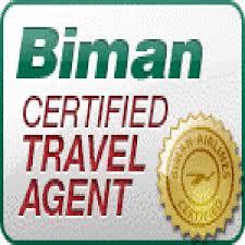Biman Certified Travel Agent