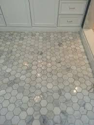 3 hexagon carrara marble tile search bathrooms