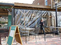 Vinyl Patio Curtains Outdoor by Outdoor Plastic Weather Panels