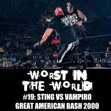 Halloween Havoc 1997 by The Wrestling Section Worst In The World Sting Vs Vampiro Great