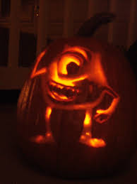 Mike Wazowski Pumpkin Carving Patterns by Mike Wazowski Stencil Patterns Patterns Kid
