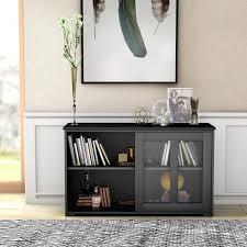 costway sideboard küchenschrank wohnzimmerregel mit