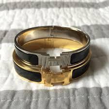 hermès clic h bracelet pm vs gm domesticated me