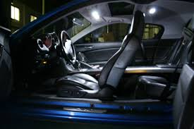 Mazda RX-8 Super White Interior LED Lights