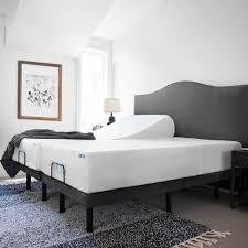 Intelli Gel Bed by Lucid L300 Adjustable Bed Base Queen Walmart Com