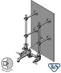 Mop Sink Faucet Vacuum Breaker Leaking by B 0662 Service Sink Faucet Works W Exposed Ceiling Supplies