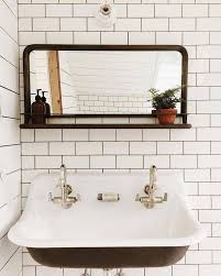 Trough Sink With Two Faucets by Best 25 Vintage Sink Ideas On Pinterest Vintage Kitchen Sink