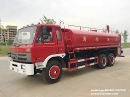 100 Water Tanker Truck 3200 Gallons Water Tanker Fire Truck LHDRHD Sale By Hubei Dong