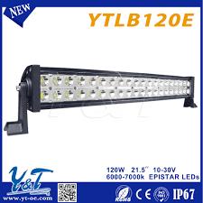120w battery powered led light bar dot approved led light battery