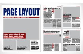 Page Layout Designs And Tips For Newspapers Magazines